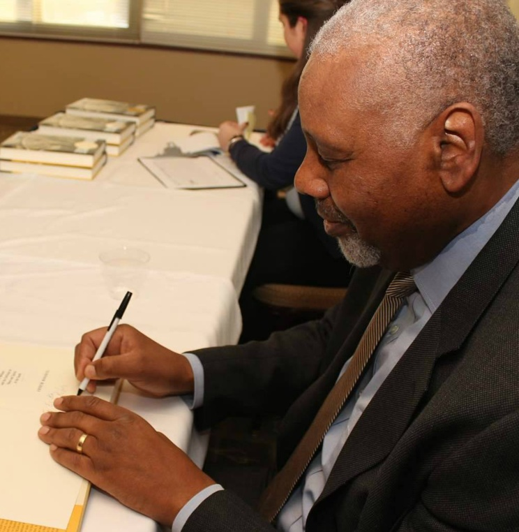 Professor Perry Wallace Honored at Book Reception