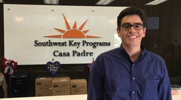 Disability Rights Law Clinic's Adrian Alvarez Volunteers at Border Detention Center