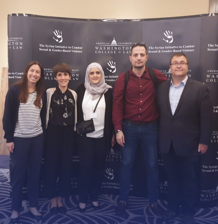 AUWCL Promotes Justice in Syria through Initiative to Combat Sexual and Gender-Based Violence