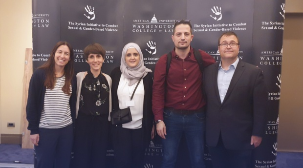 The Syrian Initiative to Combat Sexual and Gender-Based Violence organized a training on the art of rhetoric and social change in Istanbul, Turkey June 18-23.
