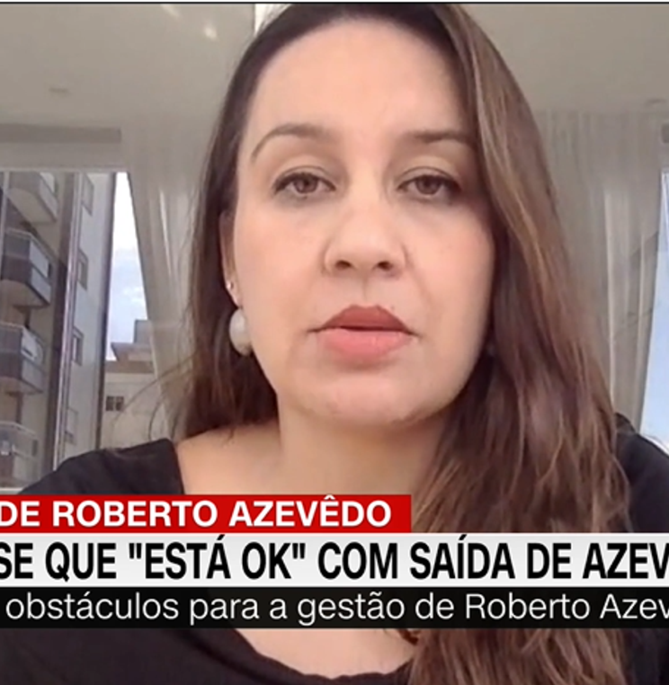 Renata Amaral Speaks to CNN Brasil on WTO Director General's Announcement of his Departure From Role