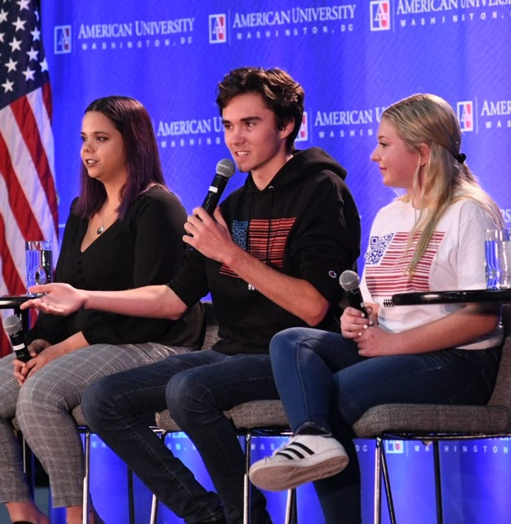 American University Welcomes the Parkland Students for a Discussion on Voting, Gun Control, and Activism
