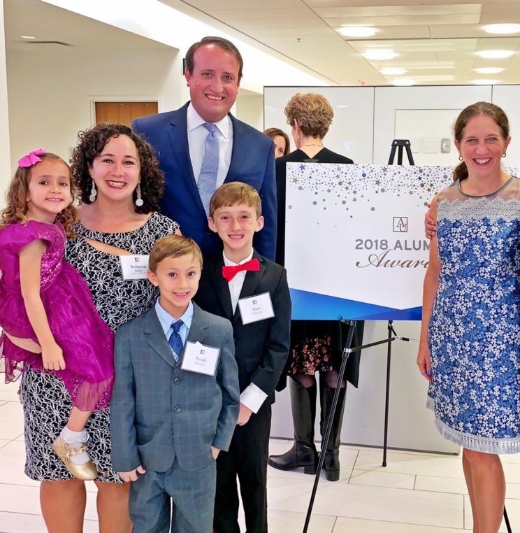 Rebecca Geller '07 Receives 2018 Alumni Recognition Award