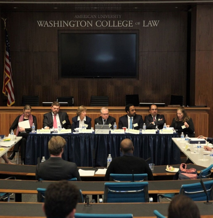 AUWCL is proud to host the 2018 All American Regional Round of the 16th edition of the ELSA Moot Court Competition on WTO law, on March 21-24, 2018