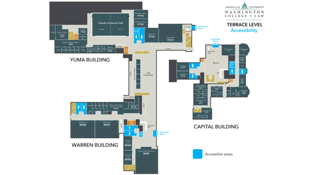 Tenley Campus Terrace Level