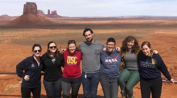 Students Volunteer in Navajo Nation During Spring Break