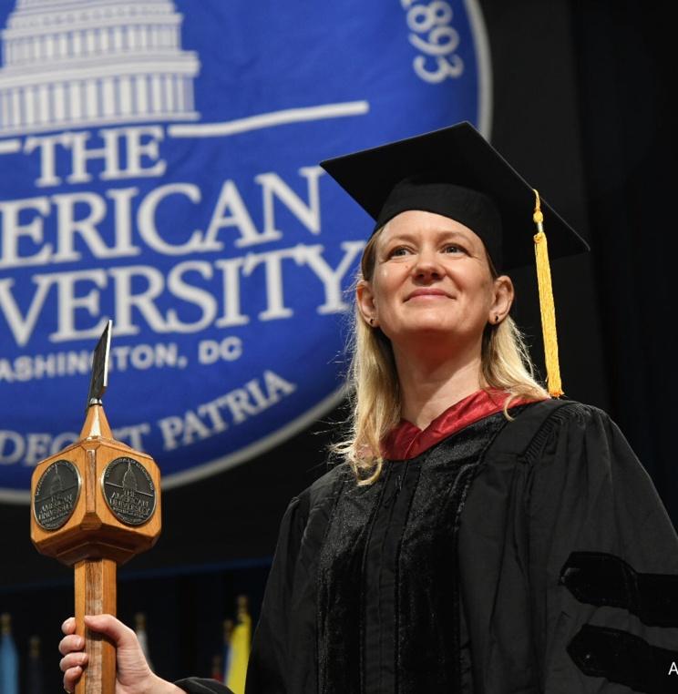 AUWCL Professor Rebecca Hamilton.