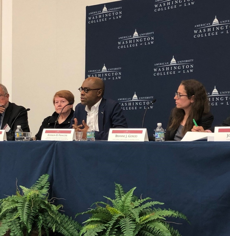 "AUWCL Hosts ""On the Docket: Looking Ahead at the New Supreme Court Term"""