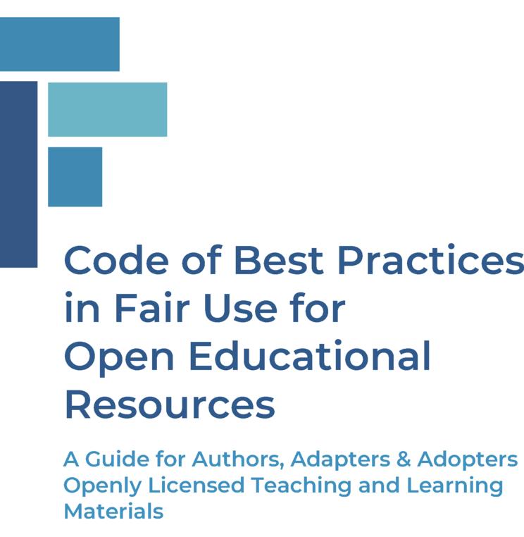 Webinar - Peter Jaszi, Meredith Jacob, Prue Adler Present the Codes of Best Practices in Fair Use in OERs