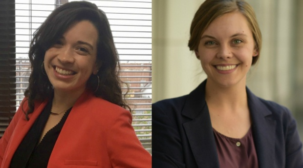 AUWCL Students Katherine Conway and Michelle Villegas Selected as 2018 Gallogly Public Interest Fellows