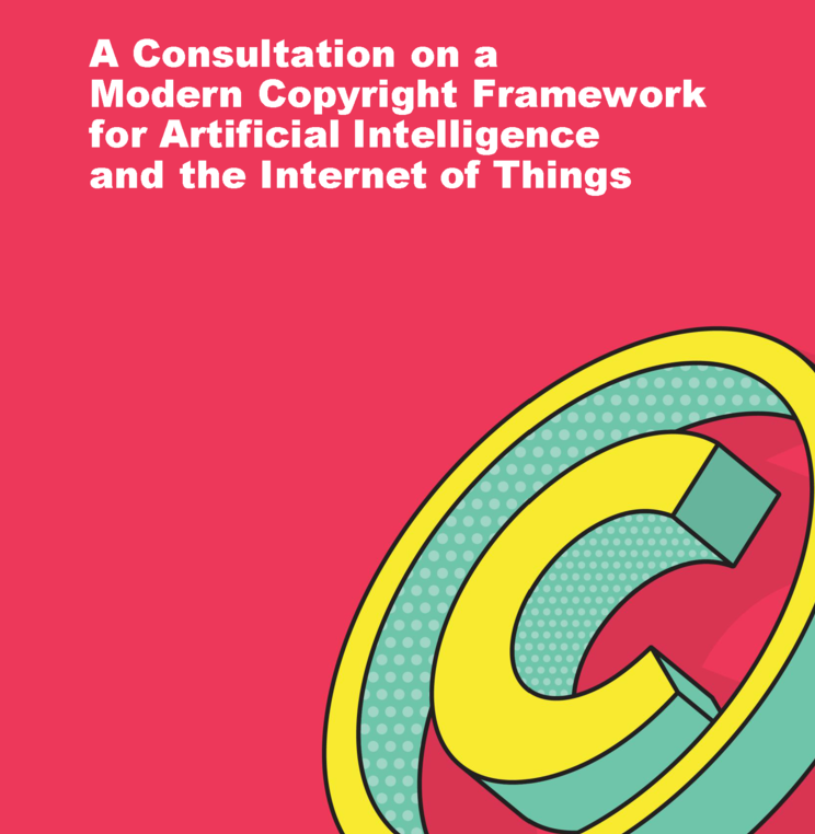 Joint Submission to Canadian Government Consultation on a Modern Copyright Framework for AI and the Internet of Things