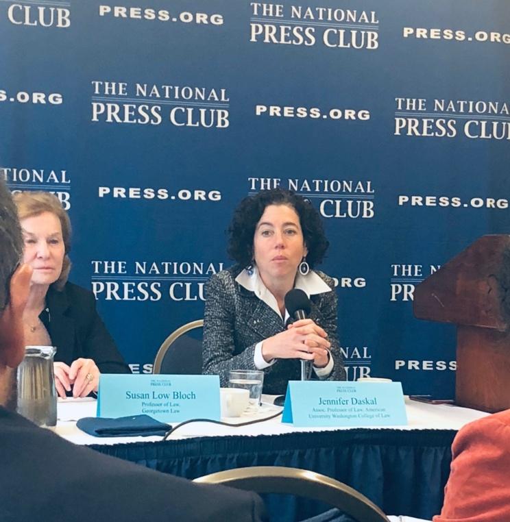 Prof. Jennifer Daskal Discusses Mueller Investigation, Impeachment at National Press Club Panel