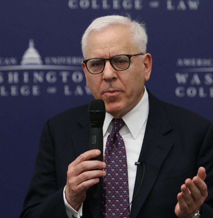 Notable Financier and Philanthropist David M. Rubenstein Shares Experiences with AUWCL Students and Faculty