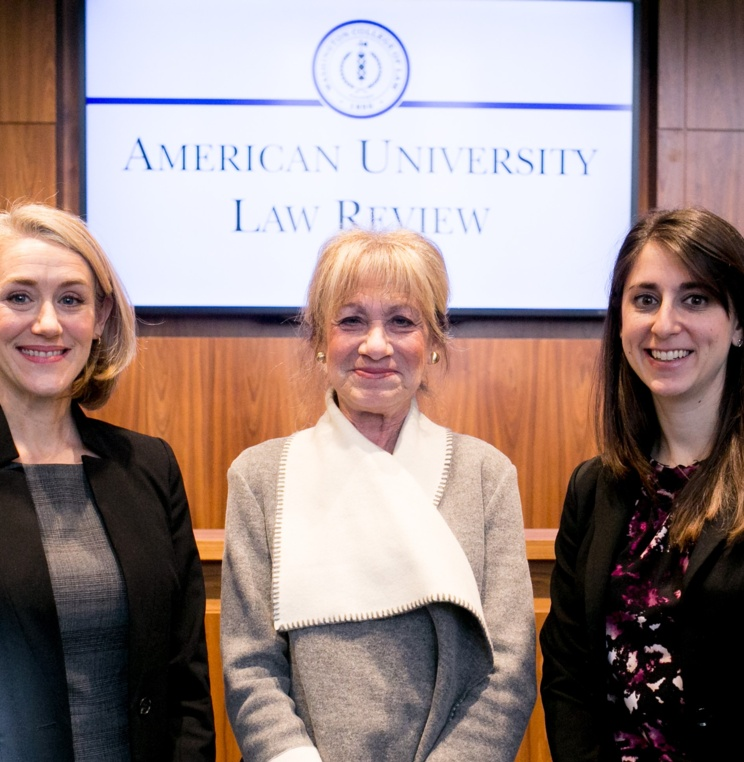 American University Law Review Hosts 33rd Annual Federal Circuit Symposium Featuring Chief Judge Sharon Prost '79