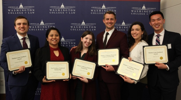 AUWCL Scholarship recipients.