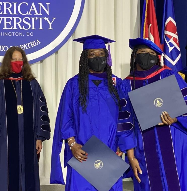 American University Washington College of Law Celebrates 2021 and 2020 Graduates
