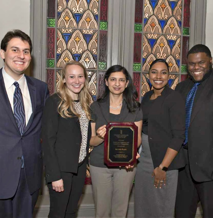 AUWCL Students Place Second at National Health Law Regulatory & Compliance Competition
