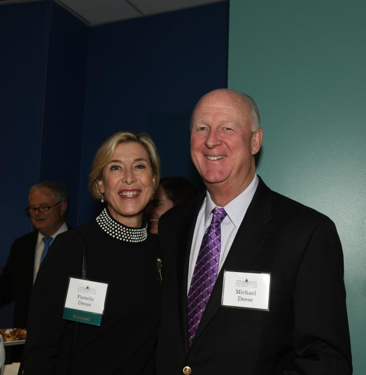 Alumna Pamela Deese with husband, Michael.