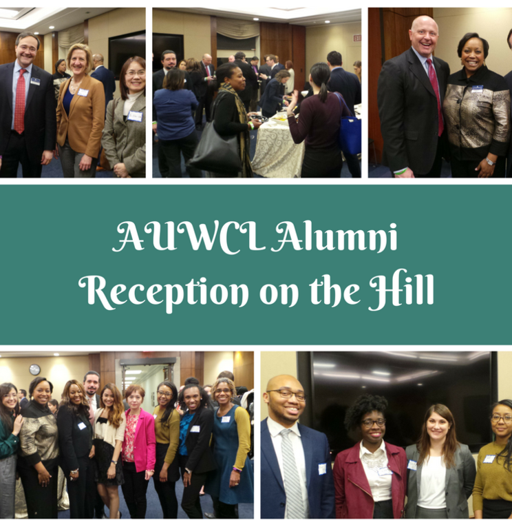 AUWCL Alumni Reception on the Hill
