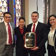 AUWCL Team Takes First Place at Health Law Competition