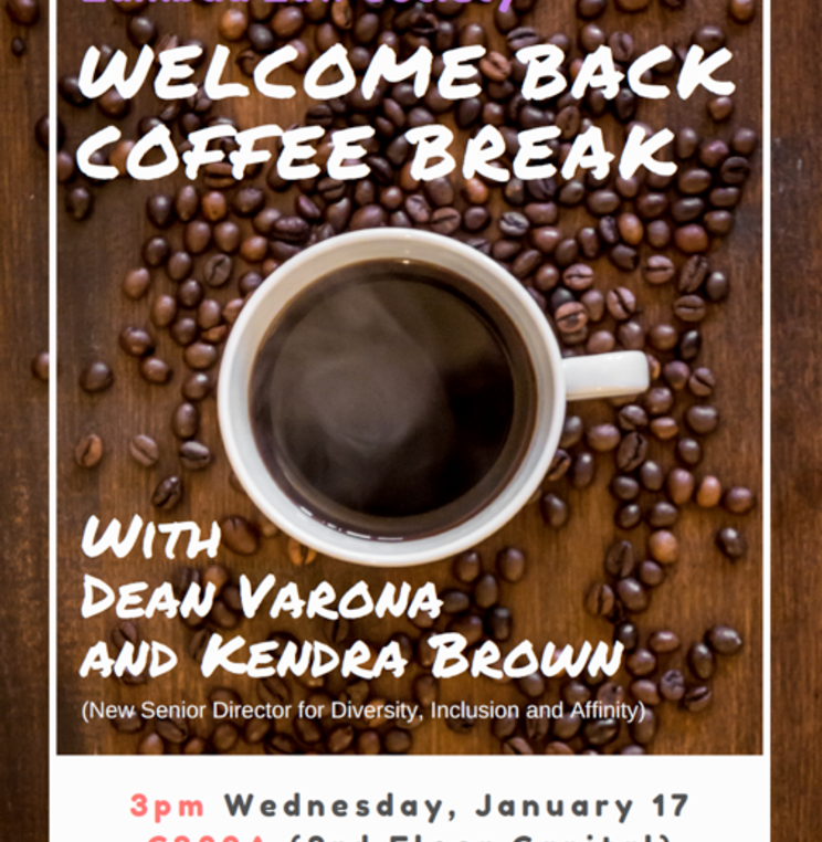 Lambda Law Society Welcome Back Coffee Break
