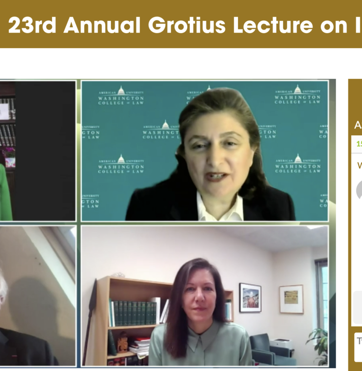 23rd Annual Grotius Lecture: