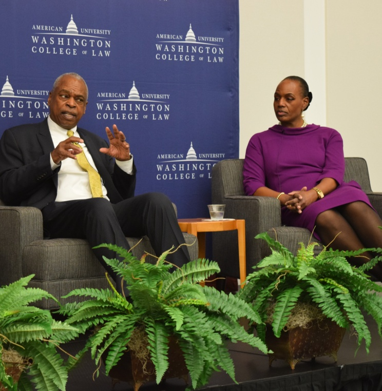 AUWCL Honors Black History Month with a Conversation with Wade Henderson and Nicole Austin-Hillery