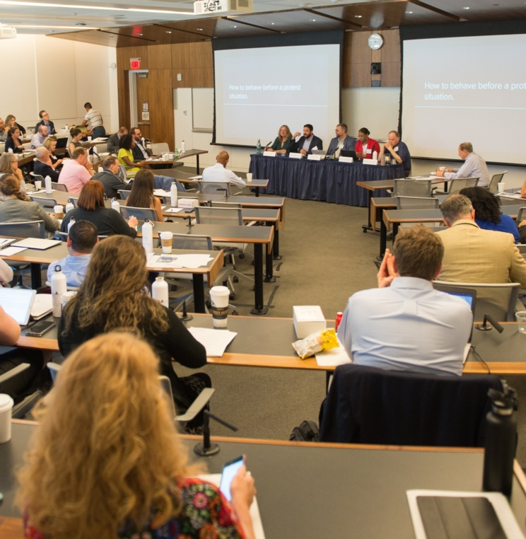 AUWCL's Trial Advocacy Program Hosts Second Annual Coaches & Competitions Clinic