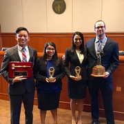 Mock Trial Team Wins the 2015 Peter James Johnson National Civil Rights Trial Competition