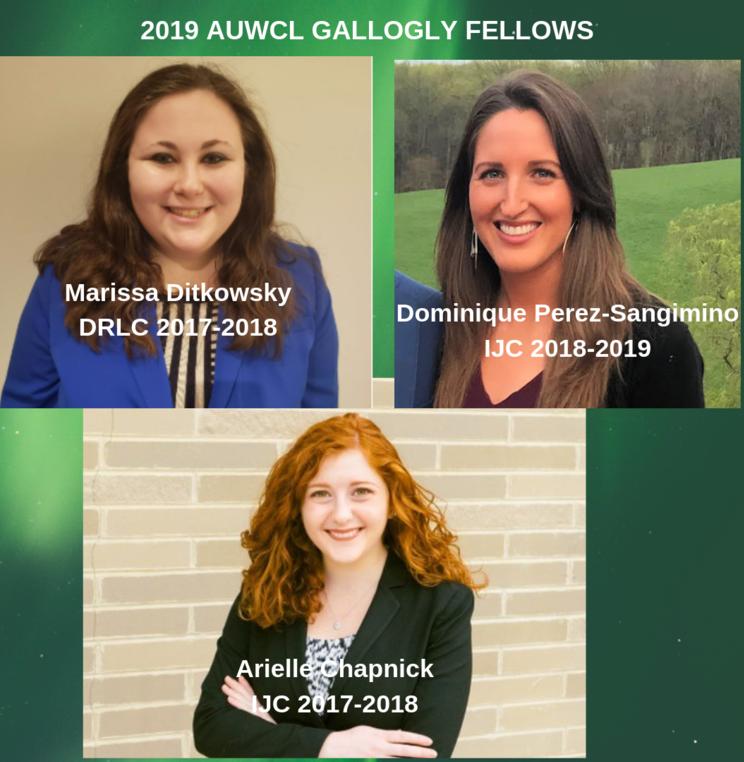 Three Clinic Student Attorneys Win Gallogly Public Interest Fellowship