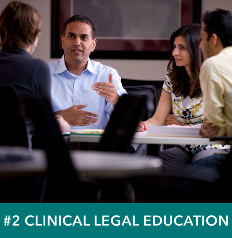 Clinical Program at American University Washington College of Law Ranked One of the Nation's Best
