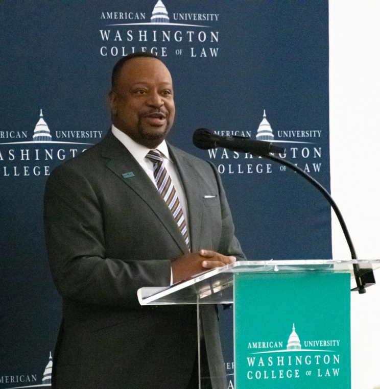 AUWCL Orientation Kicks Off on Campus with IMBY, Welcome from Dean Roger Fairfax