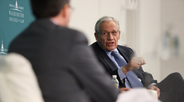 Bob Woodward discusses the Watergate scandal.