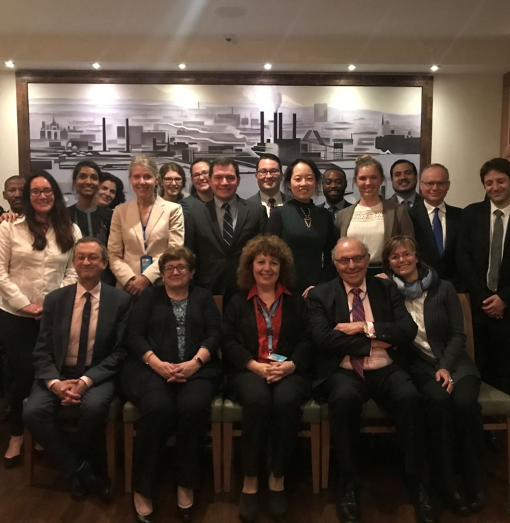 AUWCL Sponsors Dinner with UN International Law Commissioners