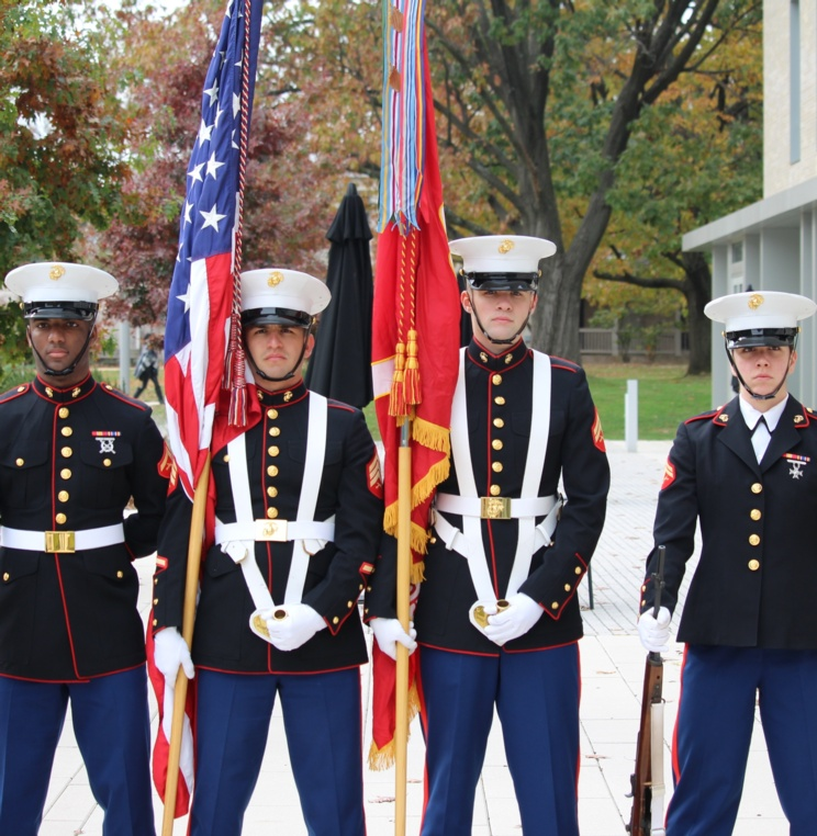 AUWCL Honors Those Who Have Served with Veterans Day Ceremony