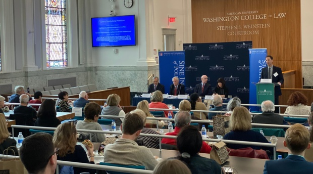 Professor David Barker, director of the Center for Congressional and Presidential Studies, welcomed attendees to the panel discussion.