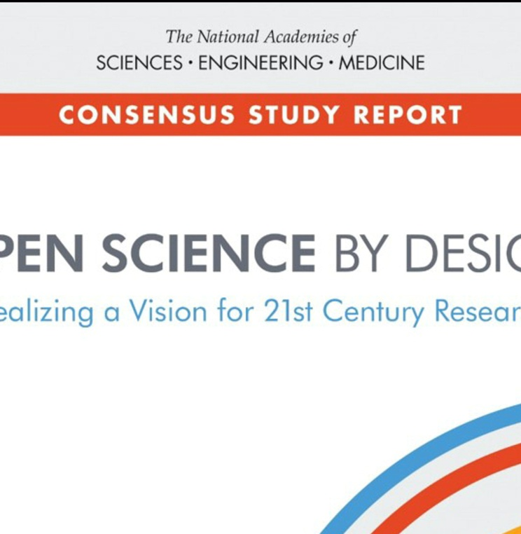 Professor Carroll Coauthors National Academies of Science Report: Open Science by Design