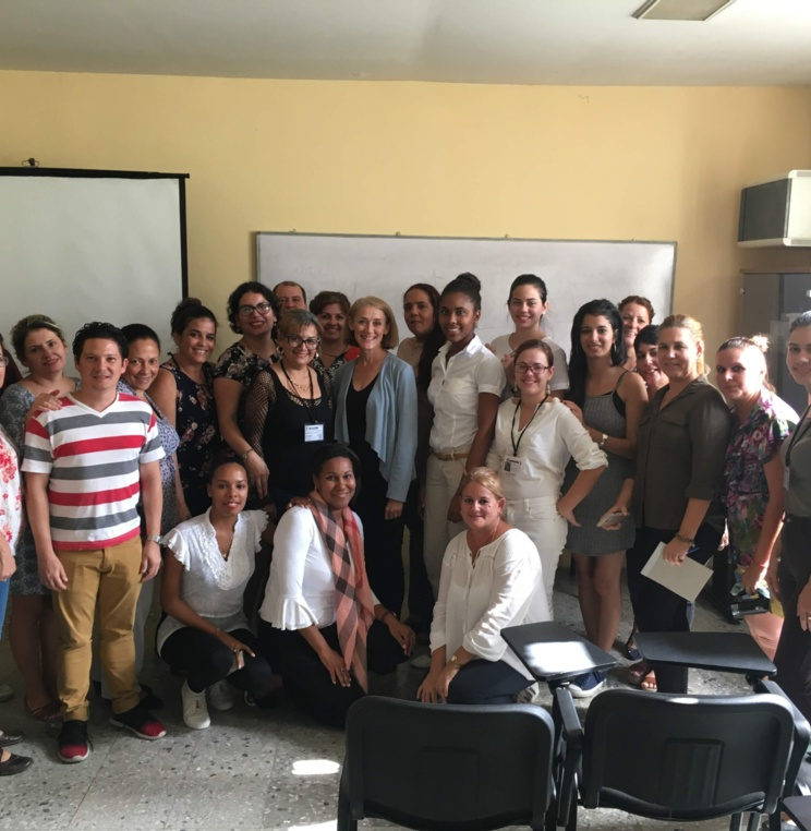 Professor Christine Haight Farley Teaches Design Protection in Cuba