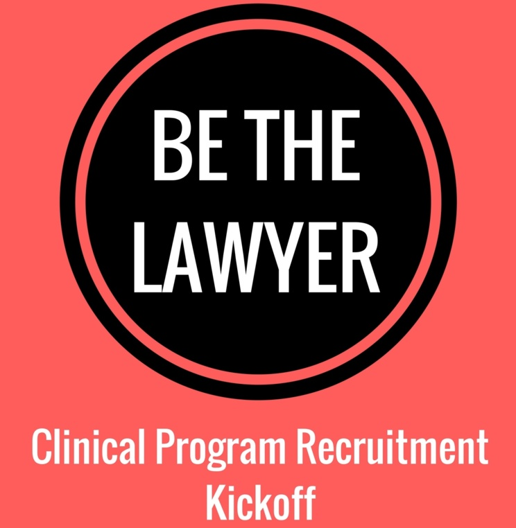 Clinic Recruitment Kickoff for 2018-2019