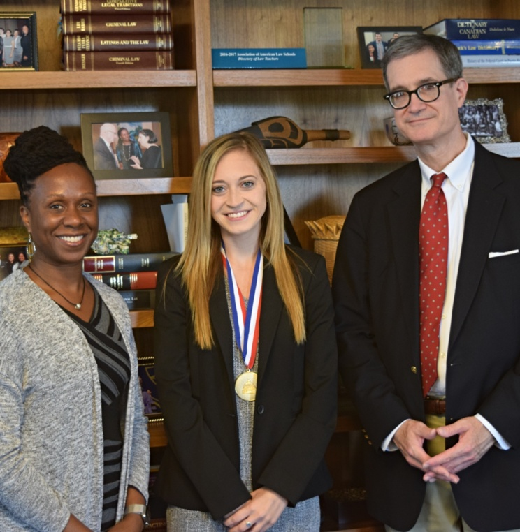 AUWCL Student Awarded American Bankruptcy Institute Medal for Excellence