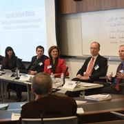 Anti-Corruption Panel Experts Discuss the Effects of  Corruption in Development