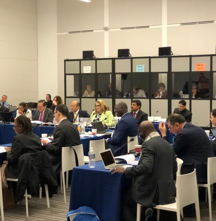 AUWCL Welcomes the International Telecommunications Satellite Organization's 21st Advisory Committee Meeting