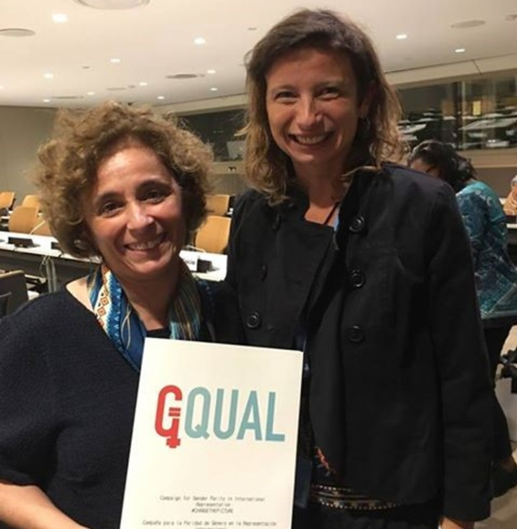 GQUAL Appears before the UN Working Group on the Issue of Discrimination against Women in Law and Practice