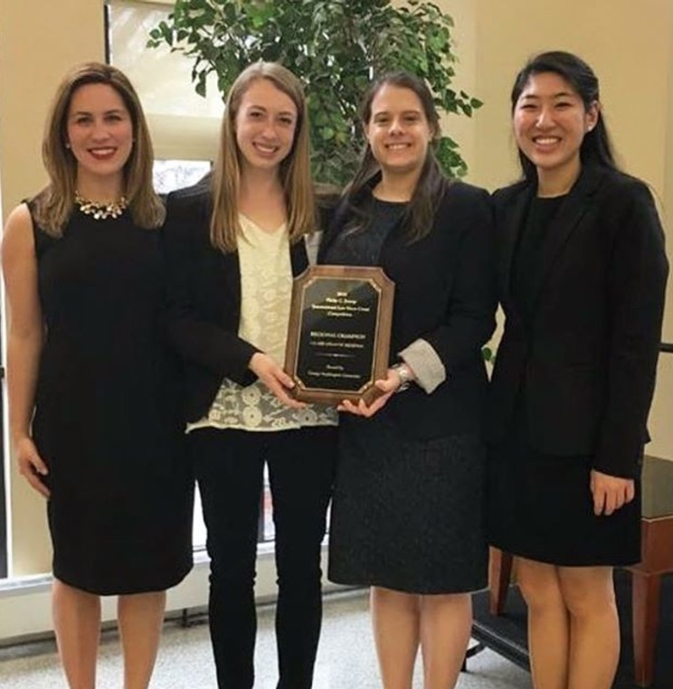 American University Washington College of Law's Jessup Moot Court Team Wins Mid-Atlantic Super Regional Competition