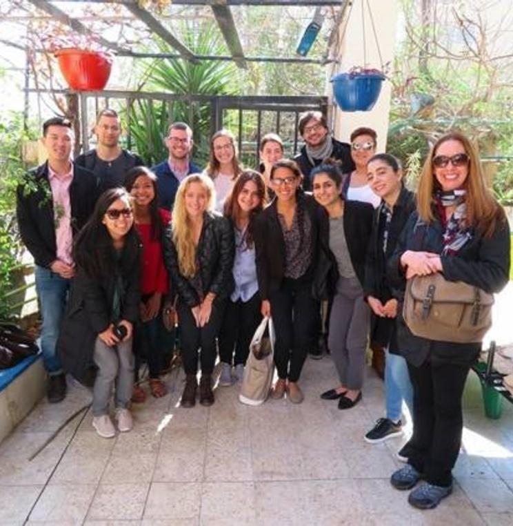 Students in the International Refugee Assistance Project visit Amman, Jordan, as part of an alternative winter break.