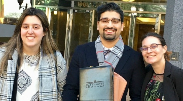 Human Rights Clinic Students Win Asylum for their Persecuted LGBT Client