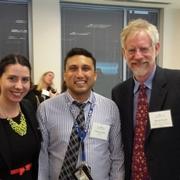 Alumni with Prof. Michael Carroll
