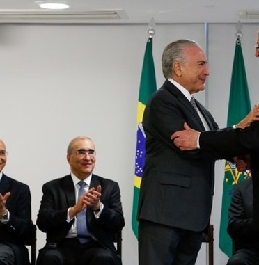 Judge Peter J. Messitte Awarded Order of the Southern Cross by Brazilian President Temer
