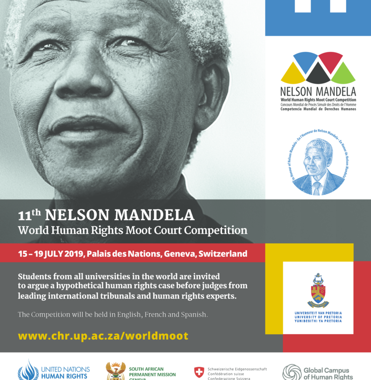 Academy Co-Sponsors 11th Nelson Mandela World Human Rights Moot Court Competition