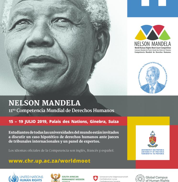 La Academia copatrocinará la 11va Competencia Mundial de Derechos Humanos Nelson Mandela